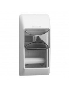 Dispenser nou Katrin, alb, h. igienica - 2 role 92384