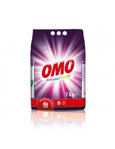 Omo Professional, detergent automat, rufe colorate, 7Kg