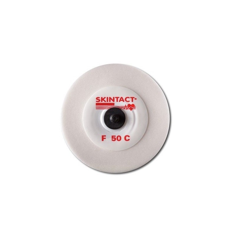 Electrozi EKG SKINTACT F-50C, capsa carbon, adult, Ø 50 mm