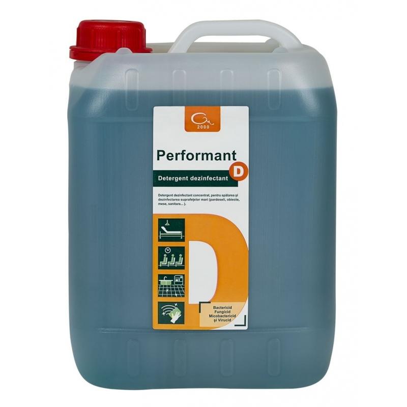 Detergent dezinfectant suprafete PERFORMANT D 5 litri  concentrat