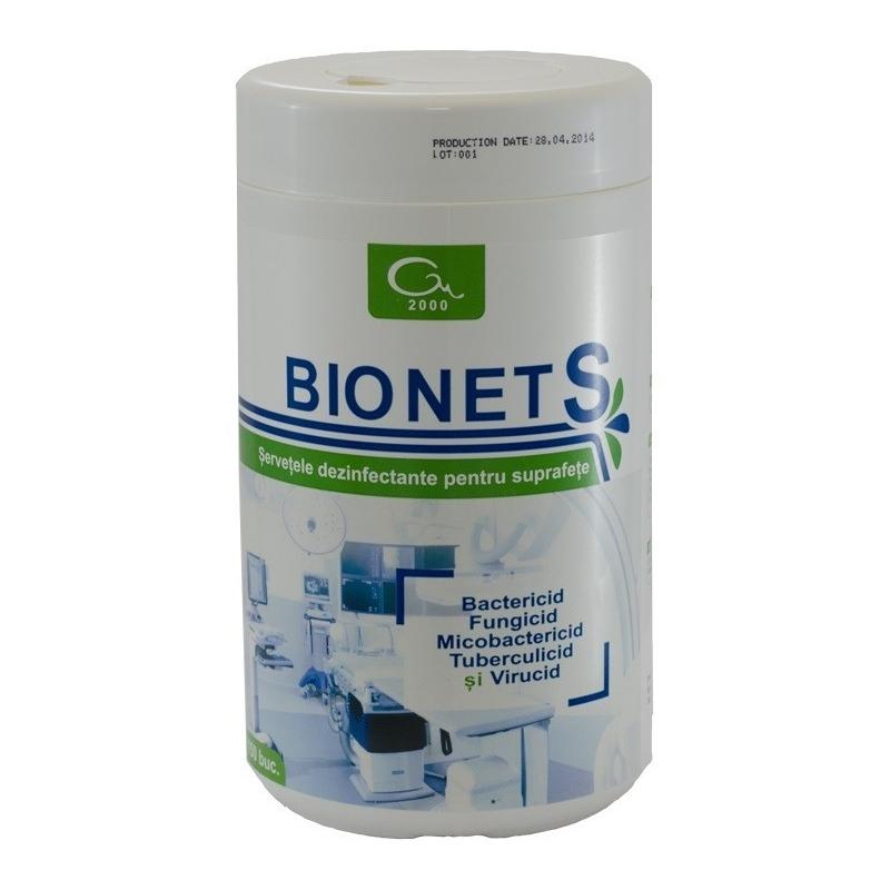 Bionet S - servetele dezinfectante - 150 buc