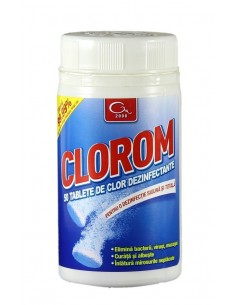 Dezinfectant clorigen CLOROM - 50 Tablete