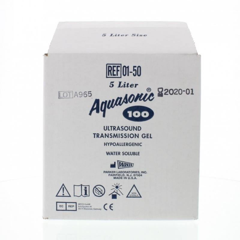 Gel AQUASONIC albastru - 5 litri