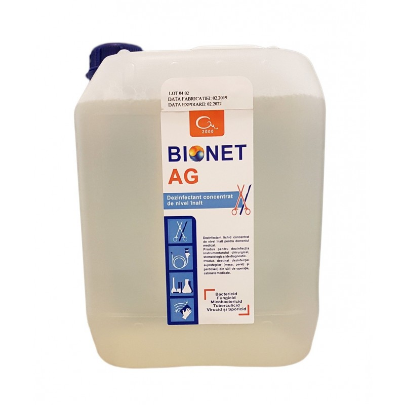 Bionet AG - Dezinfectant instrumentar concentrat - 5 litri