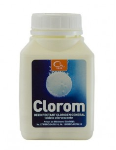 Dezinfectant clorigen CLOROM - 125 Tablete