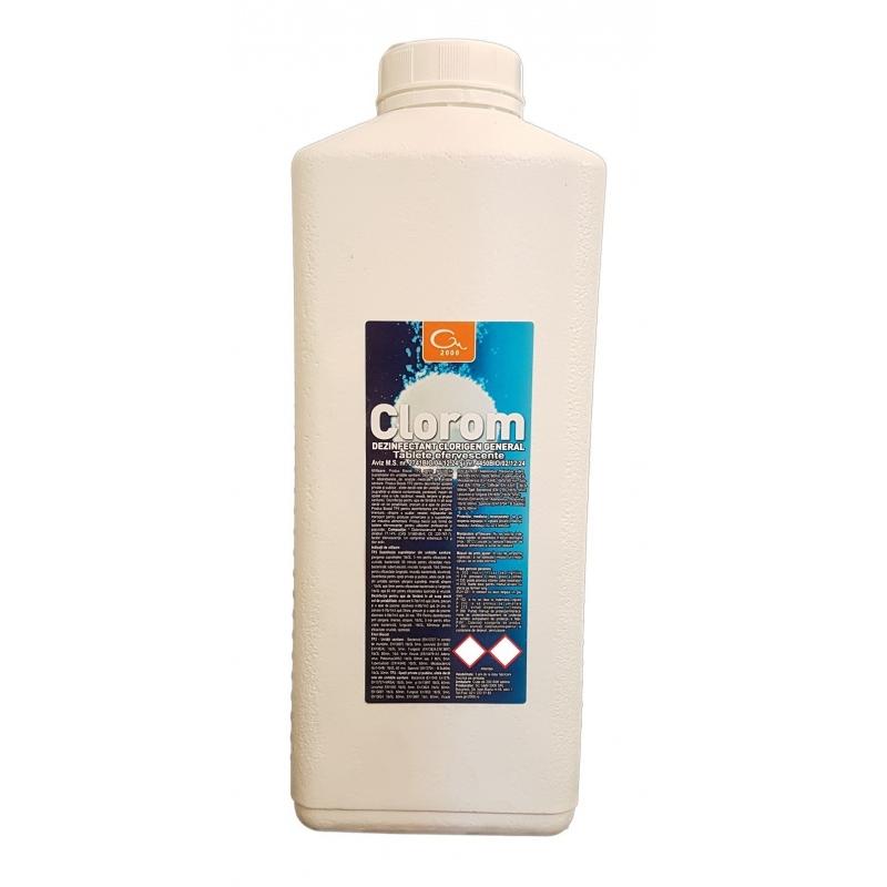 Dezinfectant clorigen CLOROM - 600 Tablete