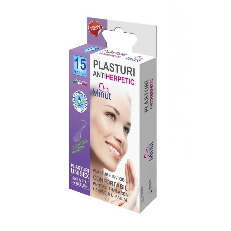 Plasturi Minut antiherpetic - 15 buc