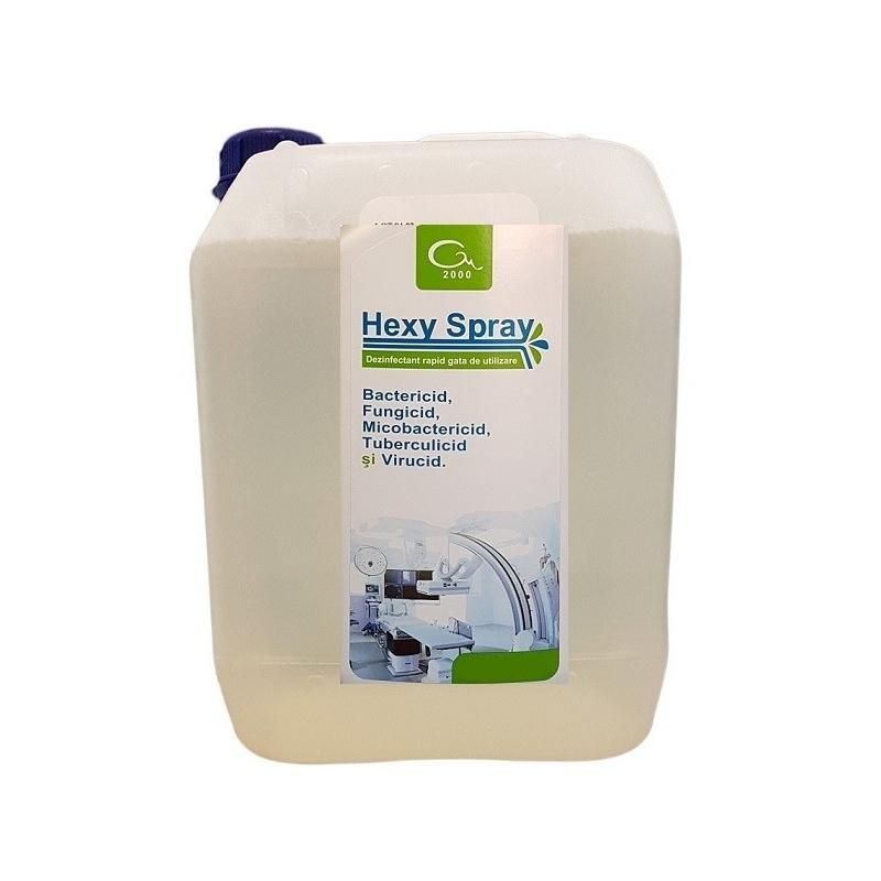 Hexy Spray - Dezinfectant suprafete solutie - 5 litri