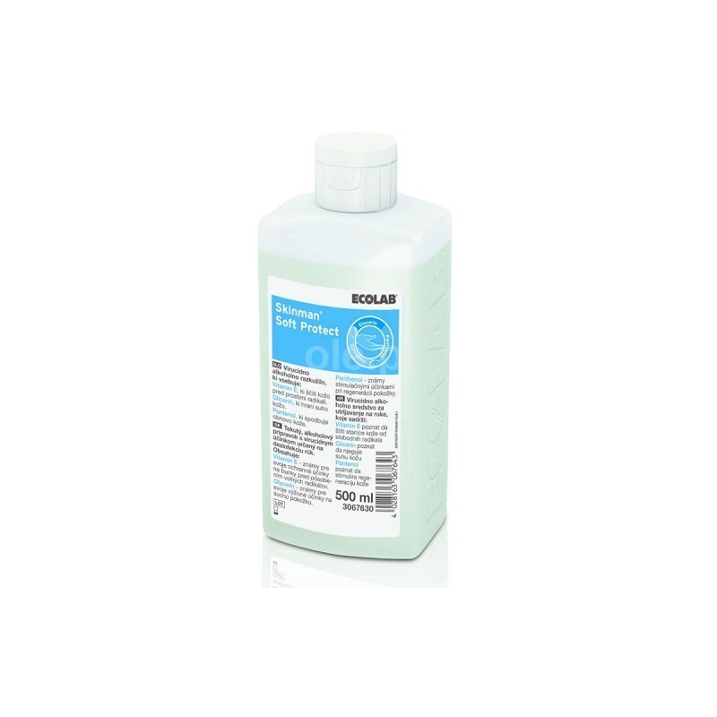 Skinman Soft Protect - dezinfectant maini - 500 ml