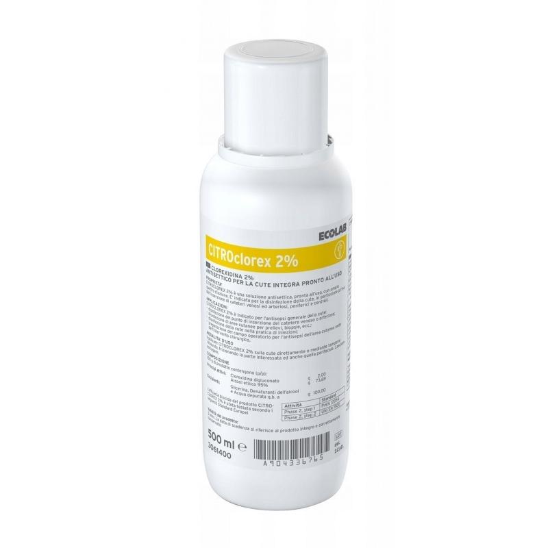 CITROclorex 2% - solutie pentru antisepia pielii - 500 ml