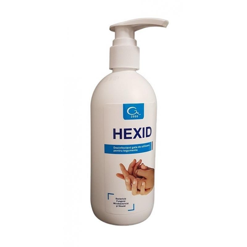 Hexid - Dezinfectant maini si tegumente cu alcool - 500 ml