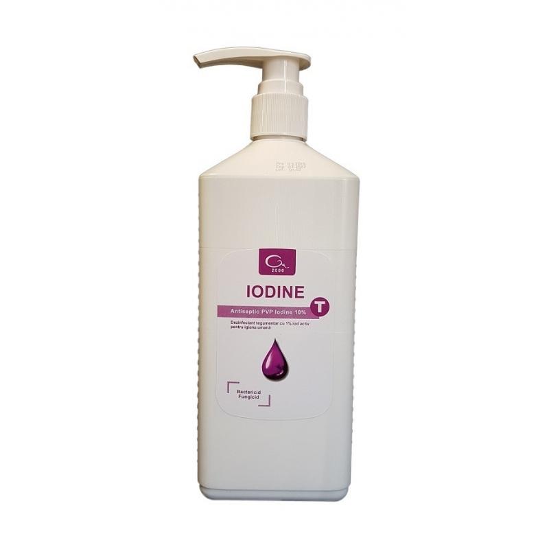 Iodine T - Dezinfectant tegumente pe baza de iod - 1 litru