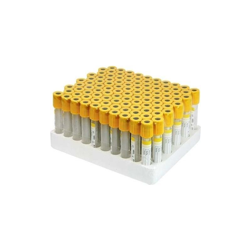 Vacutainer Biochimie 5 ml cu Clot Activator si Gel separator - 100 buc