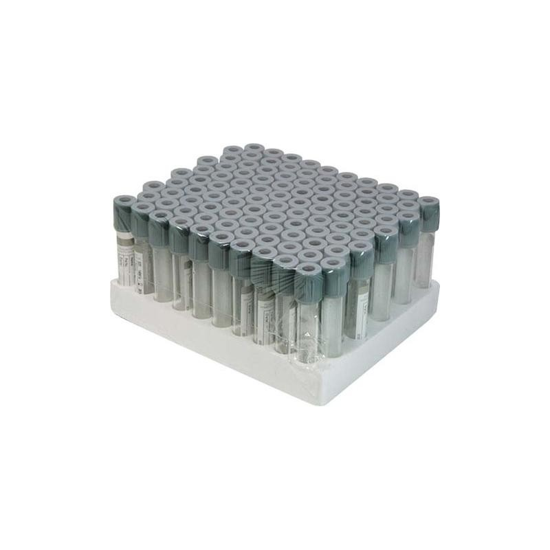 Vacutainer Glicemie cu Fluoride Oxalate 2 ml - 100 buc