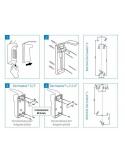 Dermados L - Dispenser pentru dezinfectanti Ecolab - 1000 ml