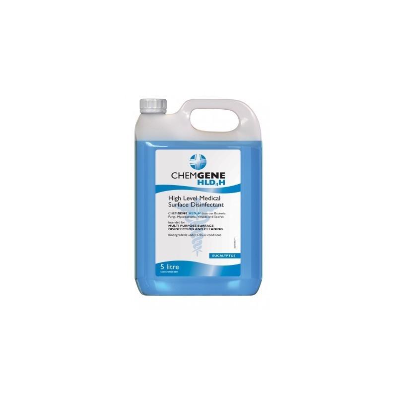Chemgene HLD4H - Detergent dezinfectant de nivel inalt - 5 litri