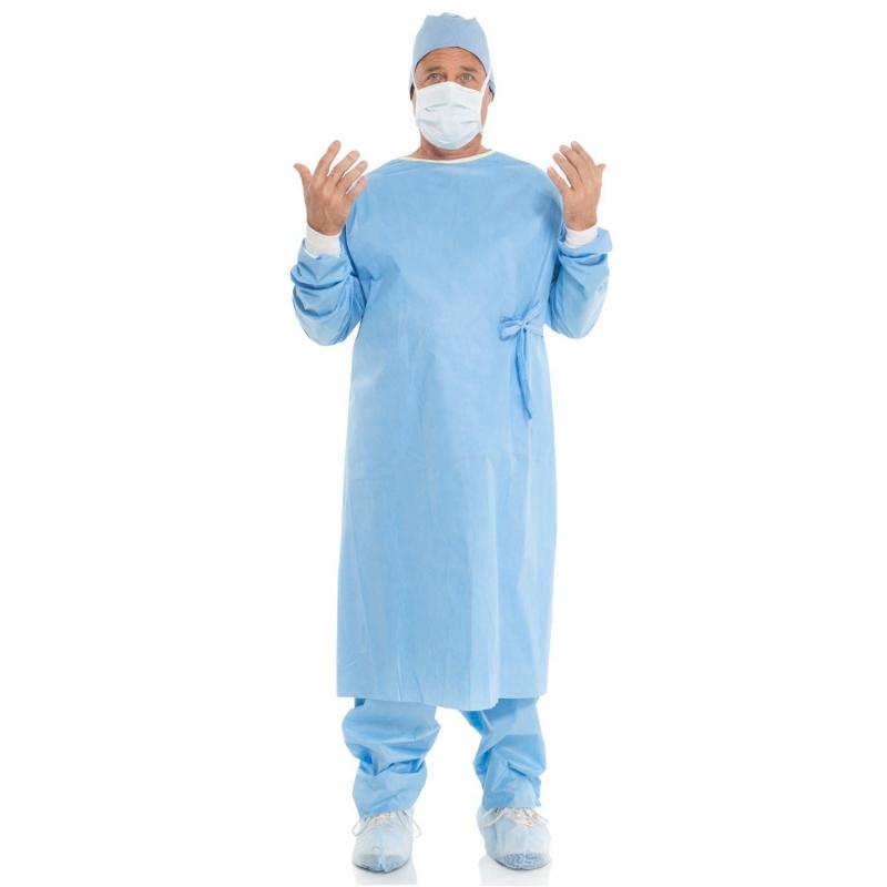 Halat chirurgical steril simplu