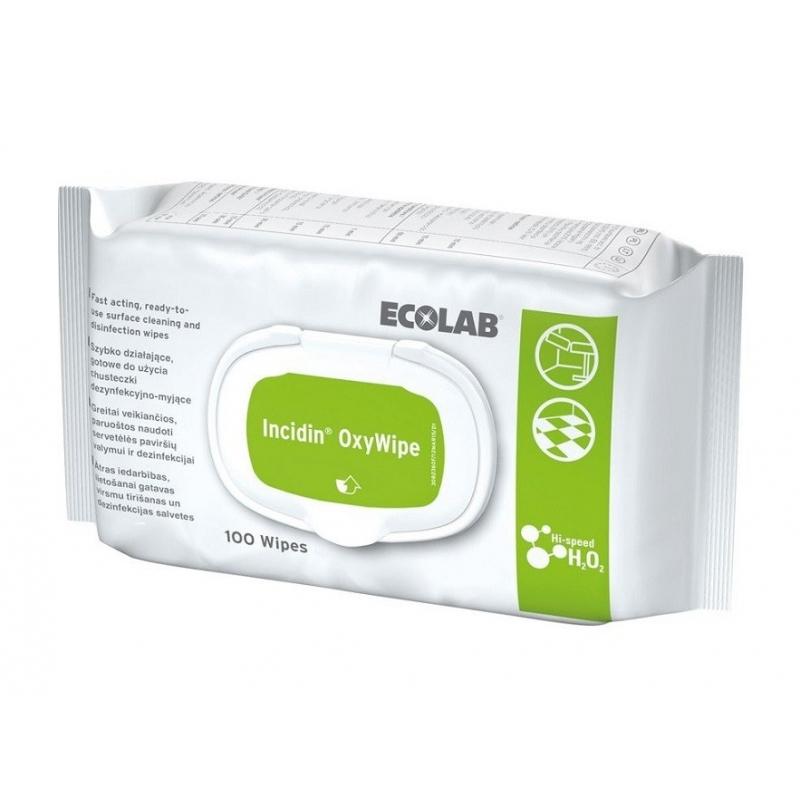 Incidin OxyWipe - servetele dezinfectante - 100 buc