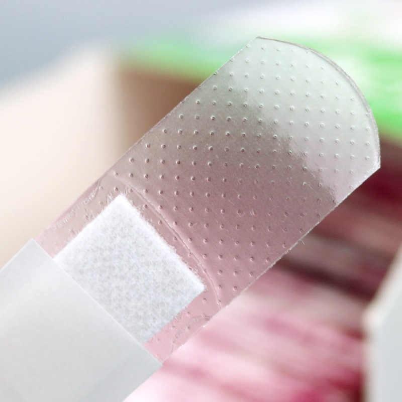 Plasturi dreptunghiulari plastic transparenti - 19 x 72 mm