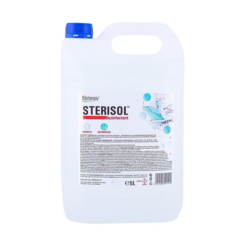 Sterisol - Dezinfectant de nivel inalt RTU - 5 litri