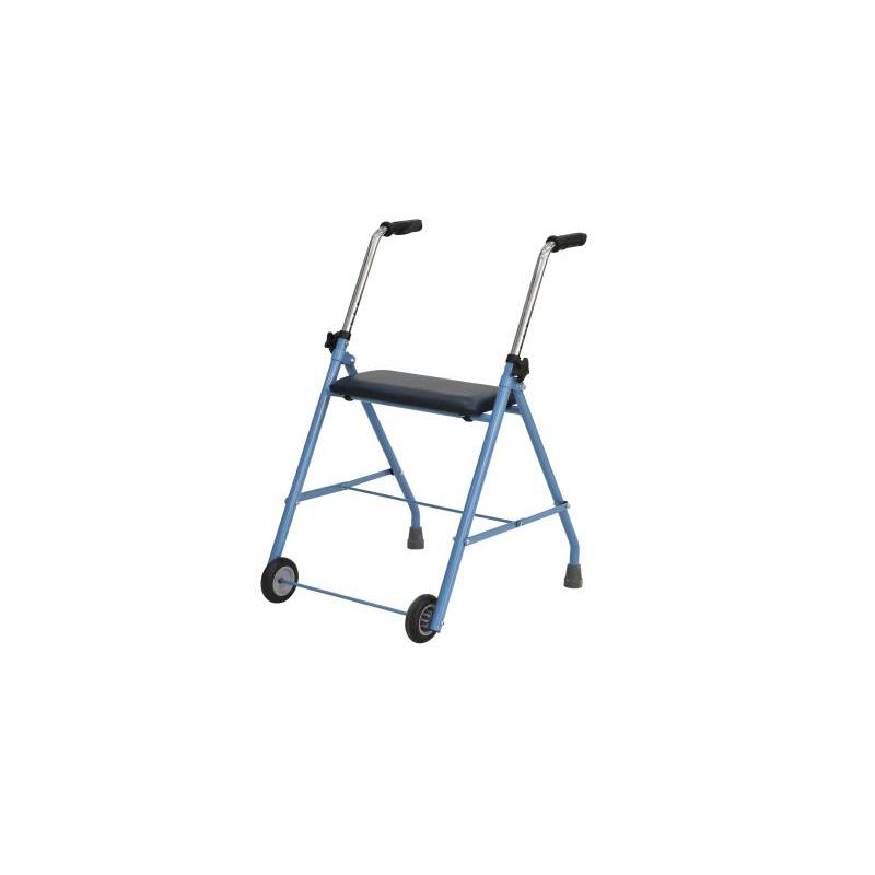 Cadru de mers cu scaun si rotile Dr. Happy - JL9141L