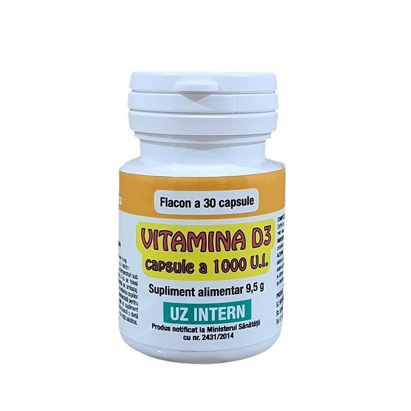 Vitamina D3 - 30 capsule