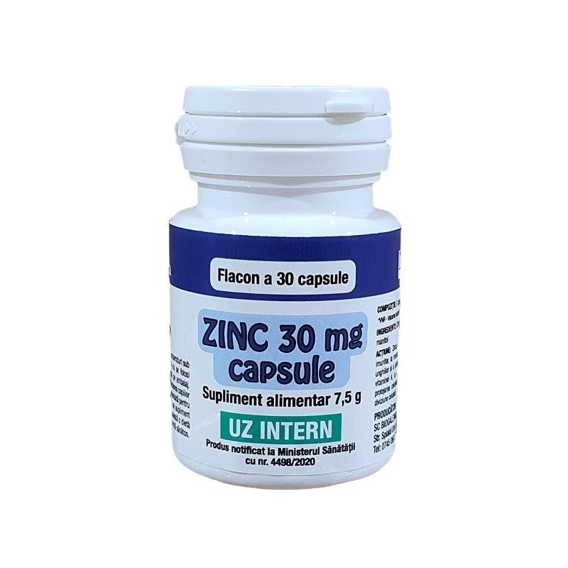Zinc 30 mg - 30 capsule
