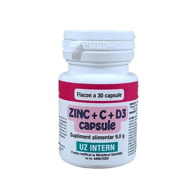 Zinc + C + D3 - 30 capsule