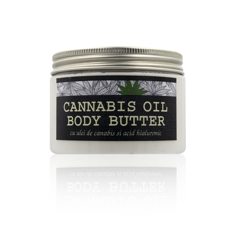 Kabinett body butter cu ulei de cannabis - 300 ml