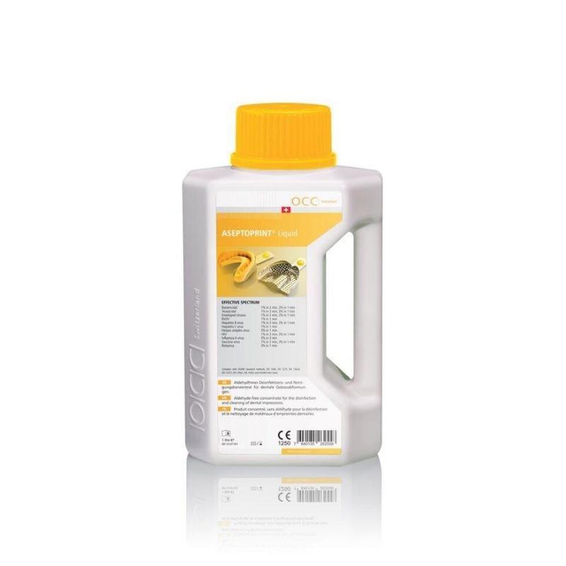 ASEPTOPRINT Liquid dezinfectant concentrat pentru dezinfecţia şi curăţarea amprentelor dentare - 1 litru