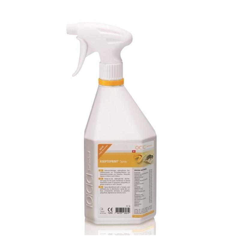 ASEPTOPRINT Liquid dezinfectant spray gata preparat pentru amprente dentare  - 1 litru