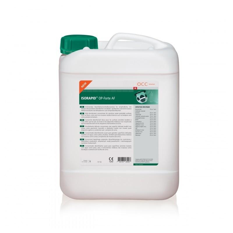 ISORAPID OP Forte AF - Dezinfectant concentrat pentru suprafete - 5 litri