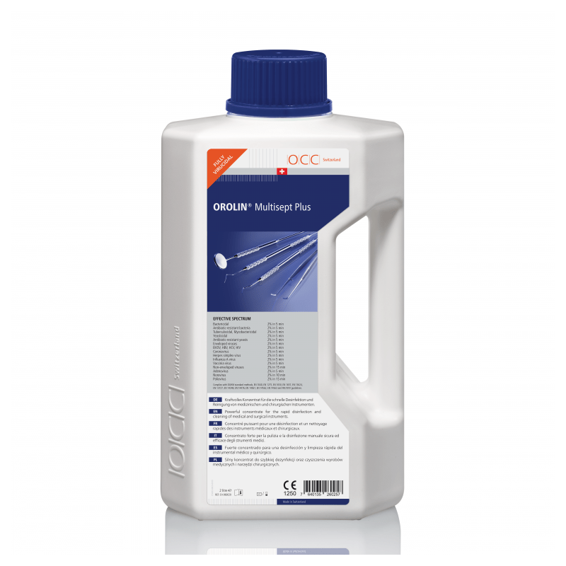 Orolin Multisept Plus - Dezinfectant concentrat pentru instrumentar - 2 litri
